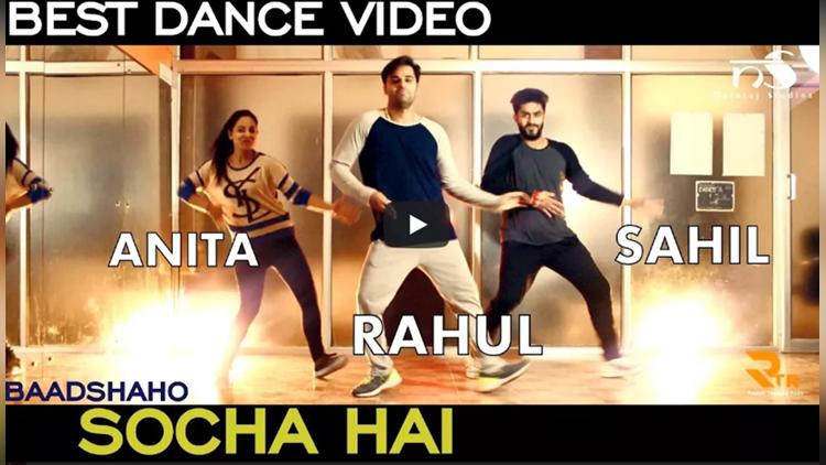 Socha Hai Dance Rahul Talwar Rexy Sahil Talwar Ft Anita Raina Nataraj Studios Jammu