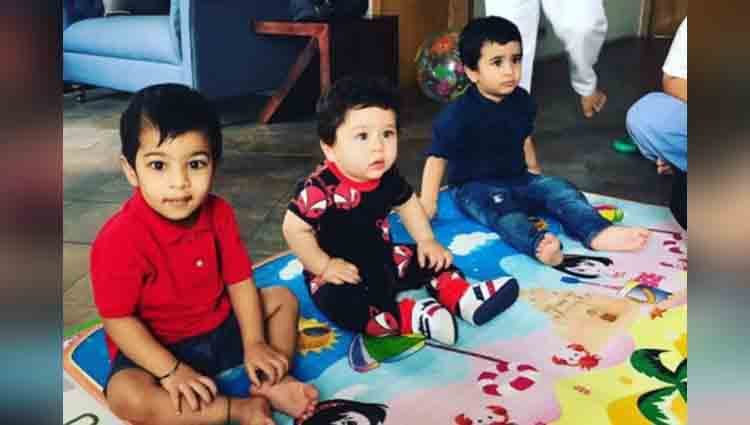 Kareena Kapoor Khan Saif Ali Khan's son Taimur cutest clicks