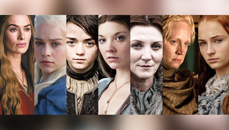 Ladies in Game of Thrones - Before and After