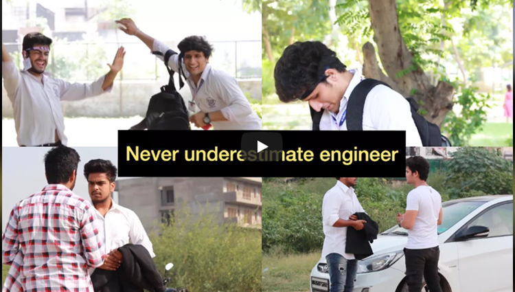 Never underestimate engineer