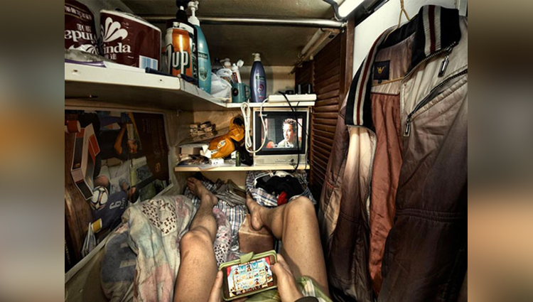Life Inside Hong Kong Coffin Cubicles
