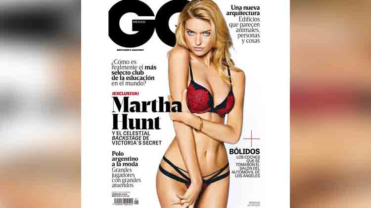 Martha Hunt share her hot photos