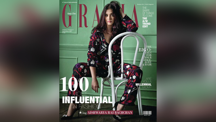 Aishwarya Rai Bachchan is seen on the cover of Grazia and here are the pictures from the issue