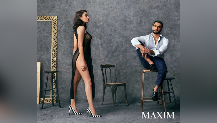 Bollywood Actor Ranveer Singh Photo Shoot For Maxim