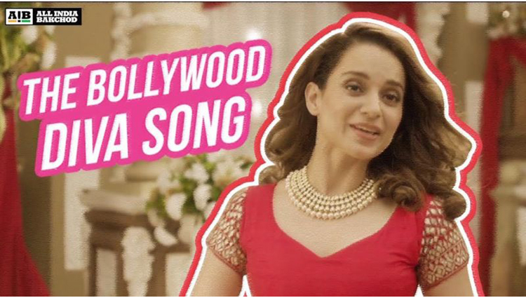 Kangana Ranaut Finds A Way Of Video To Target Her Issues