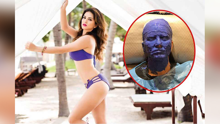 Sunny Leone teases fans with a never seen before look for her upcoming project see pics