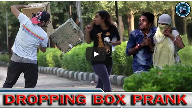 DROPPING BOX ON COUPLES