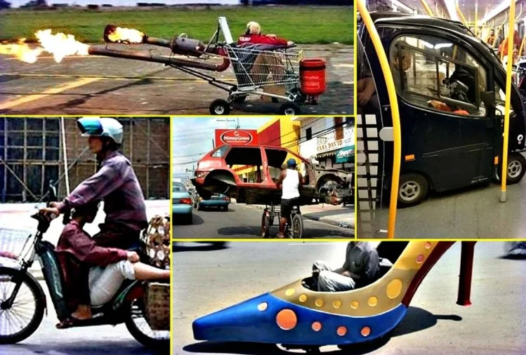 funny ways of transportation