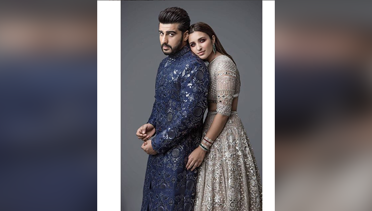 Parineeti Chopra and arjun photoshoot for bridal magazine