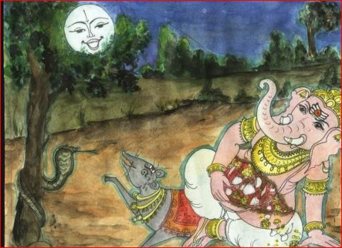 lord ganesh shraap chndrma How moon get curse from lord Ganesha