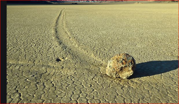Mystery of Death Valley Sailing Stones