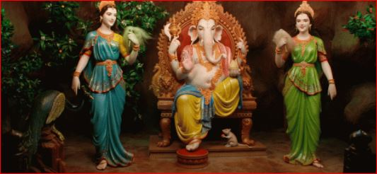The Story behind Ganesha Marriage to Riddhi and Siddhi