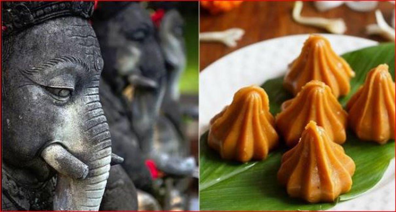 why ganpati bappa love modak story