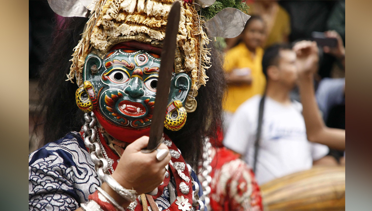 Indra Jatra 2019 in Nepal photos Fair Festival