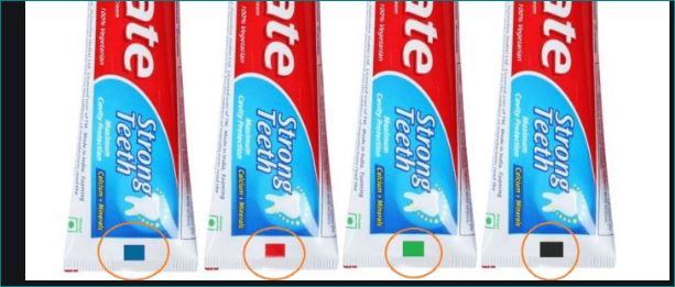 Do You Know The Meaning Of This Cubical Colorful Sign In Toothpaste Tube