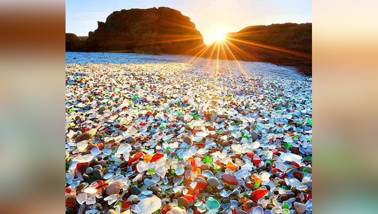 world famous glass beach