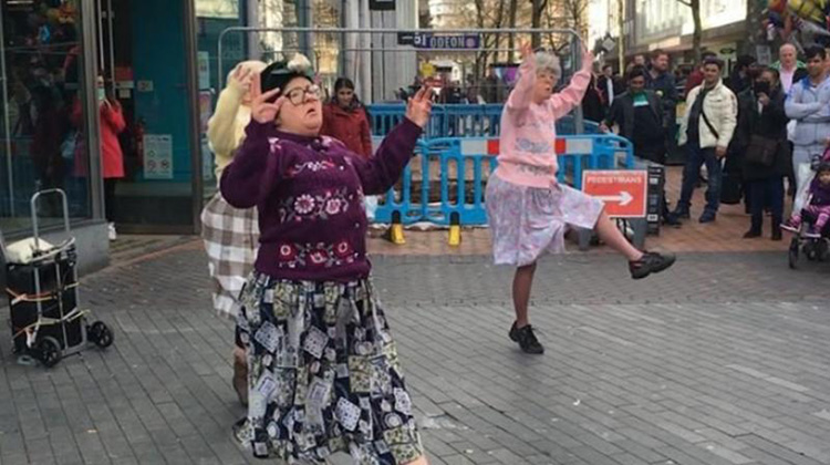 The Dancing Grannies Take Bhangra To Touchwood
