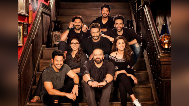 golmaal again making video