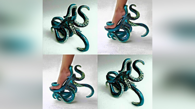 10 Quirkiest Footwear Designs that Shouldn't Hold a Place in your Feet but Museum!
