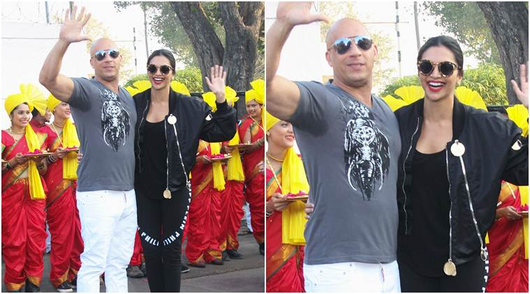 vin diesel in india with deepika padukone