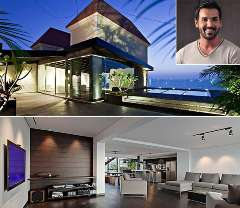 john abraham house photos