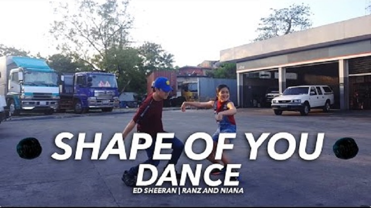 sibling Ranz and Niana dance video