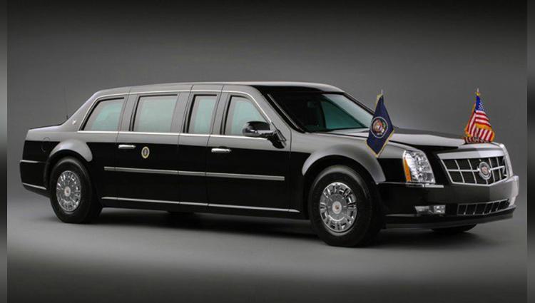 donald trump president car features