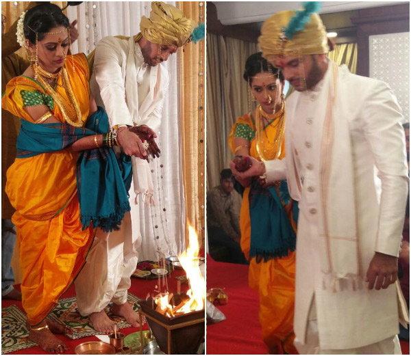 Ravish Desai and Mugdha