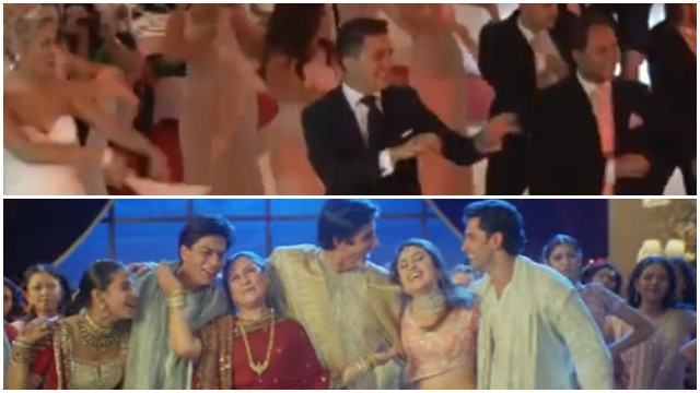 foreign wedding couple dance on bollywood song bole chudiyan
