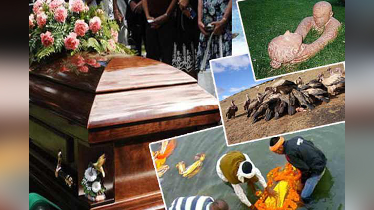 weird funeral rituals around the world