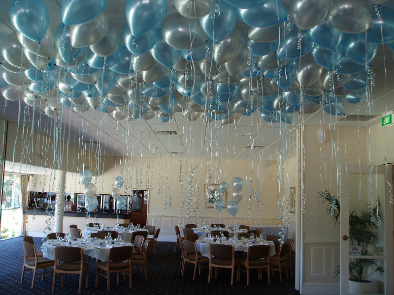 decorate your home by balloons