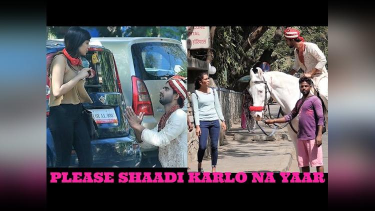 PLEASE MARRY ME PRANK Pranks In India Funny Video