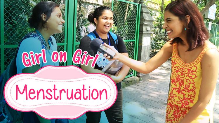 Girl On Girl Menstruation BeingIndian