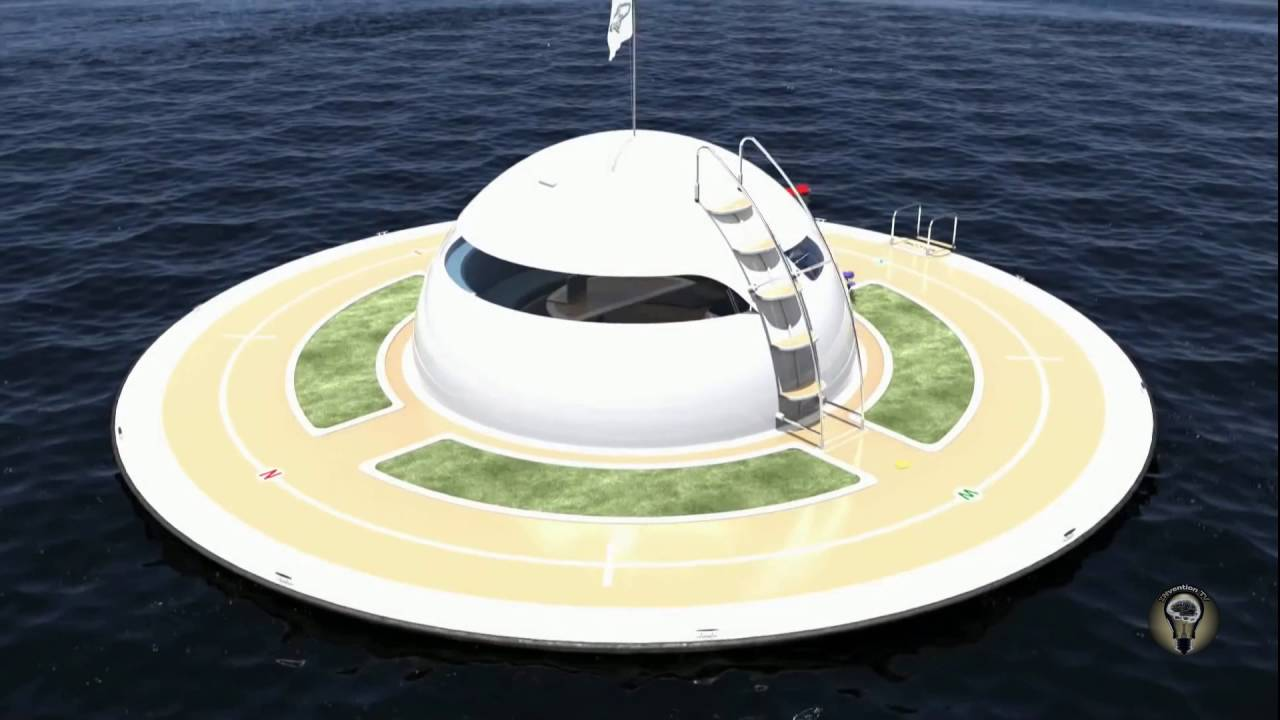 floating home like ufo