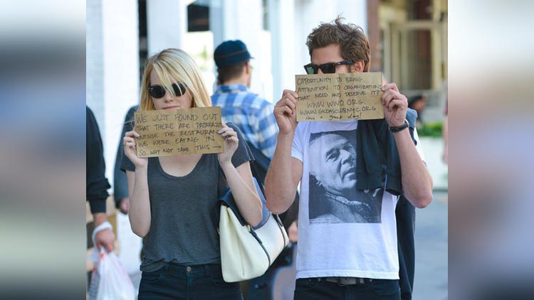 PHOTOS Celebs who had the most hilarious reactions to paparazzi