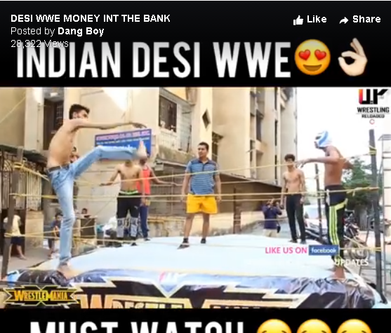 indian desi WWE viral video