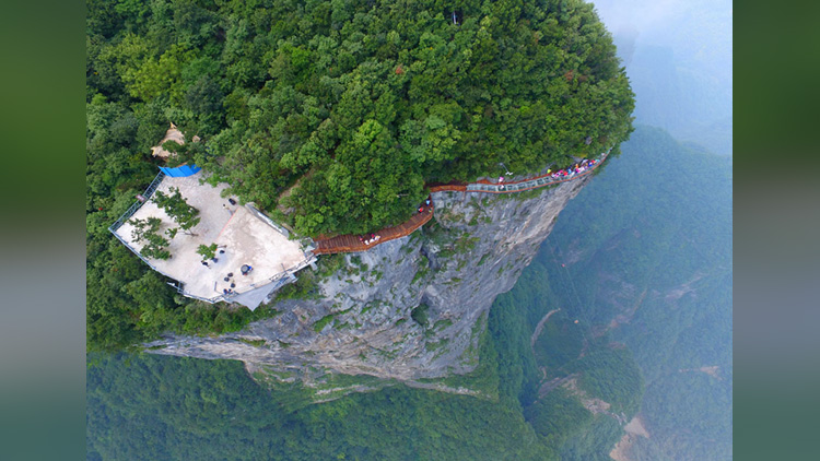 Hold Your Breath Before Watching This Dangerous Bridge Of China