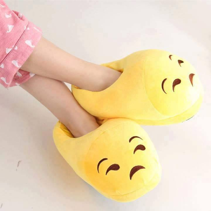 emoji unisex slippers