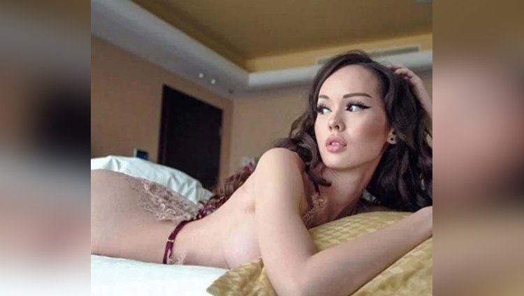 Dinara Rakhimbaeva Controversial Photo viral on social media