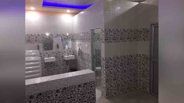 first cashless toilet of india open in UP
