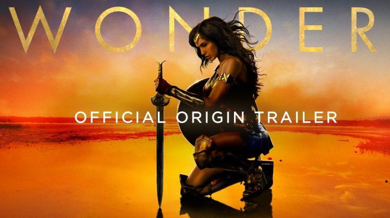 WONDER WOMAN Official Origin Trailer