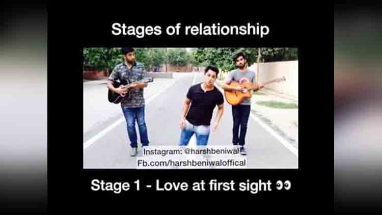 Harsh beniwal stages of relationship main karu toh saala character dheela hai