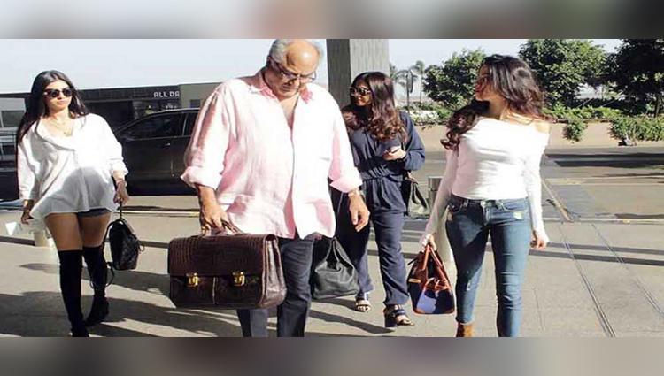 jhanvi khushi off to a vacation