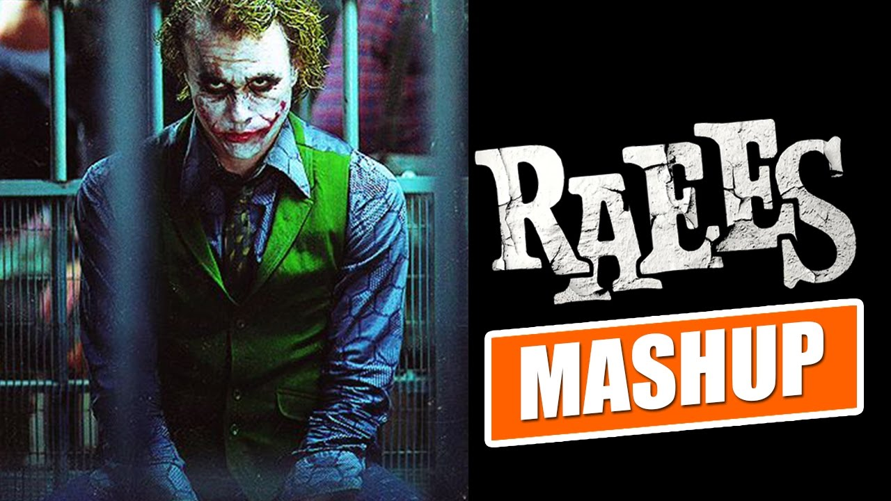 Raees and batman Trailer Mashup video