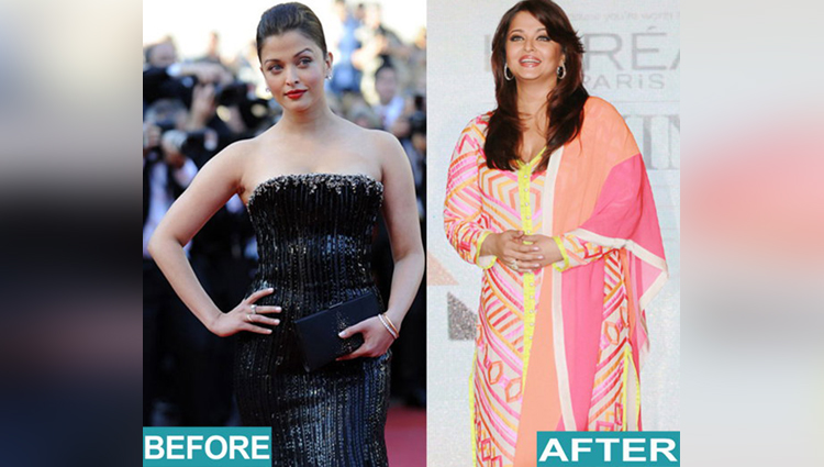 Bollywood Actress Look Post Pregnancy