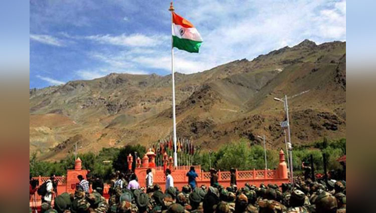 India's Hoisted The Tallest Flag On The Attari Border Which Is A Metre Away From Lahore