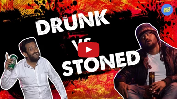 stoned vs drunk video