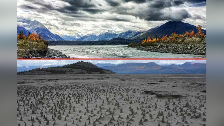 This Canadian River Disappeared in Four Days